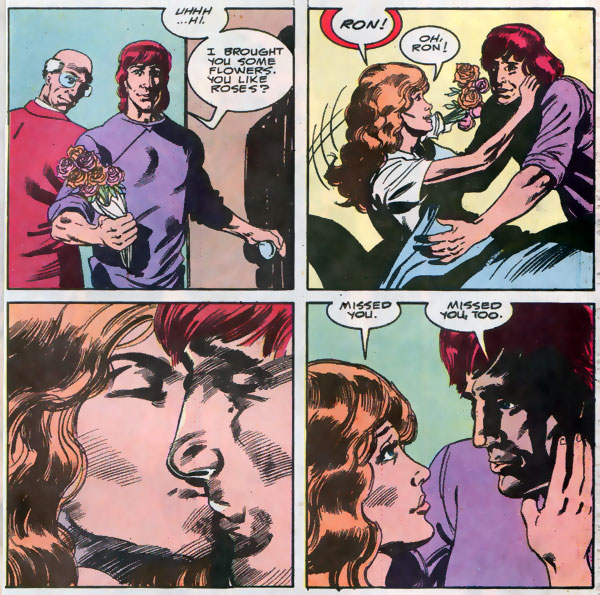 Firestorm #100 - Ron Raymond and Lorraine Reilly