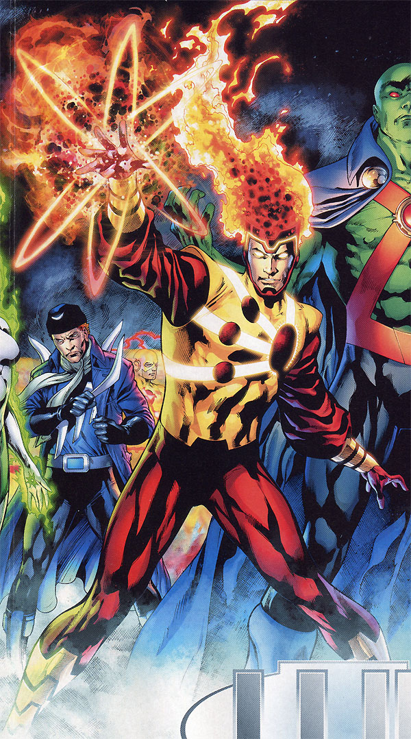Blackest Night 8 - Firestorm Lives