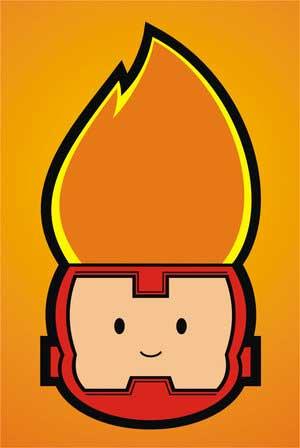 Firestorm cutie by brant047