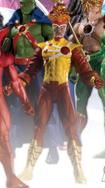 Firestorm Brightest Day action figure