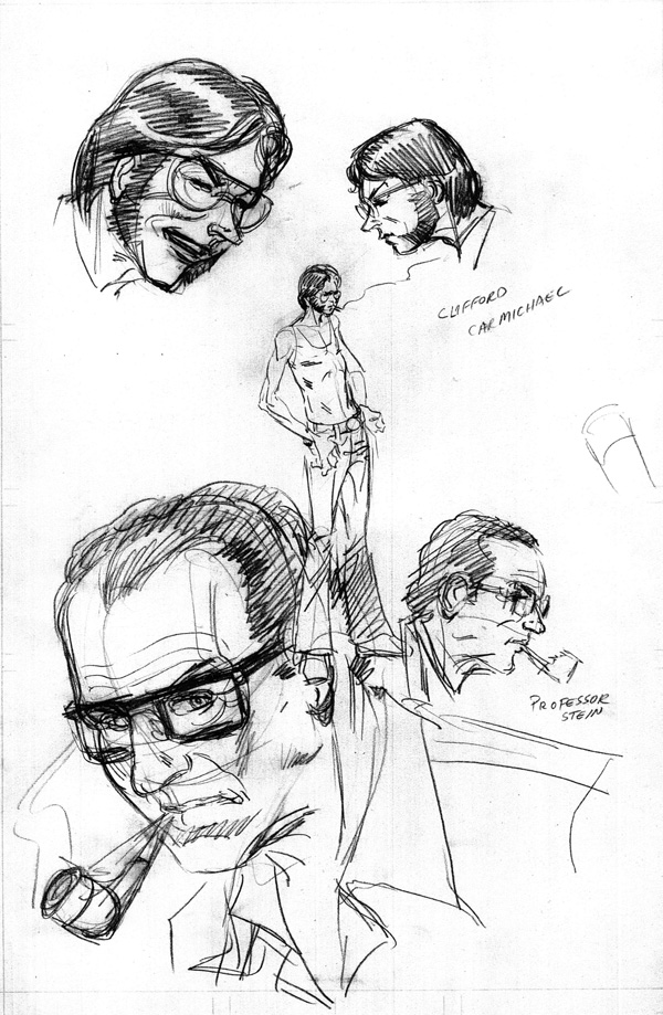 Firestorm Original Character Designs by Al Milgrom at Firestorm Fan.com