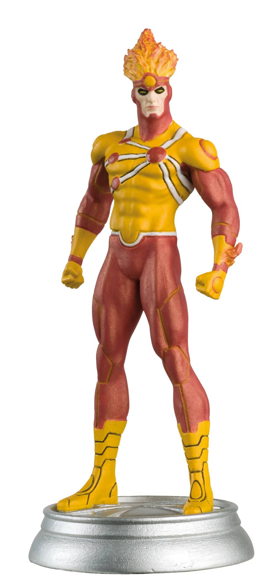 Eaglemoss DC Superhero Chess Figure Collector Magazine #53 – Firestorm White Pawn