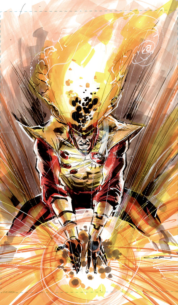 Yildiray Cinar on Firestorm - Brightest Day incarnation