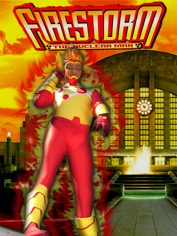 Brad West of OutrageousOutfits.com as Firestorm at Dragon*Con 2010