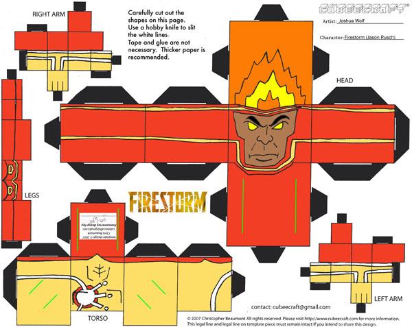 Firestorm Jason Rusch Cubee