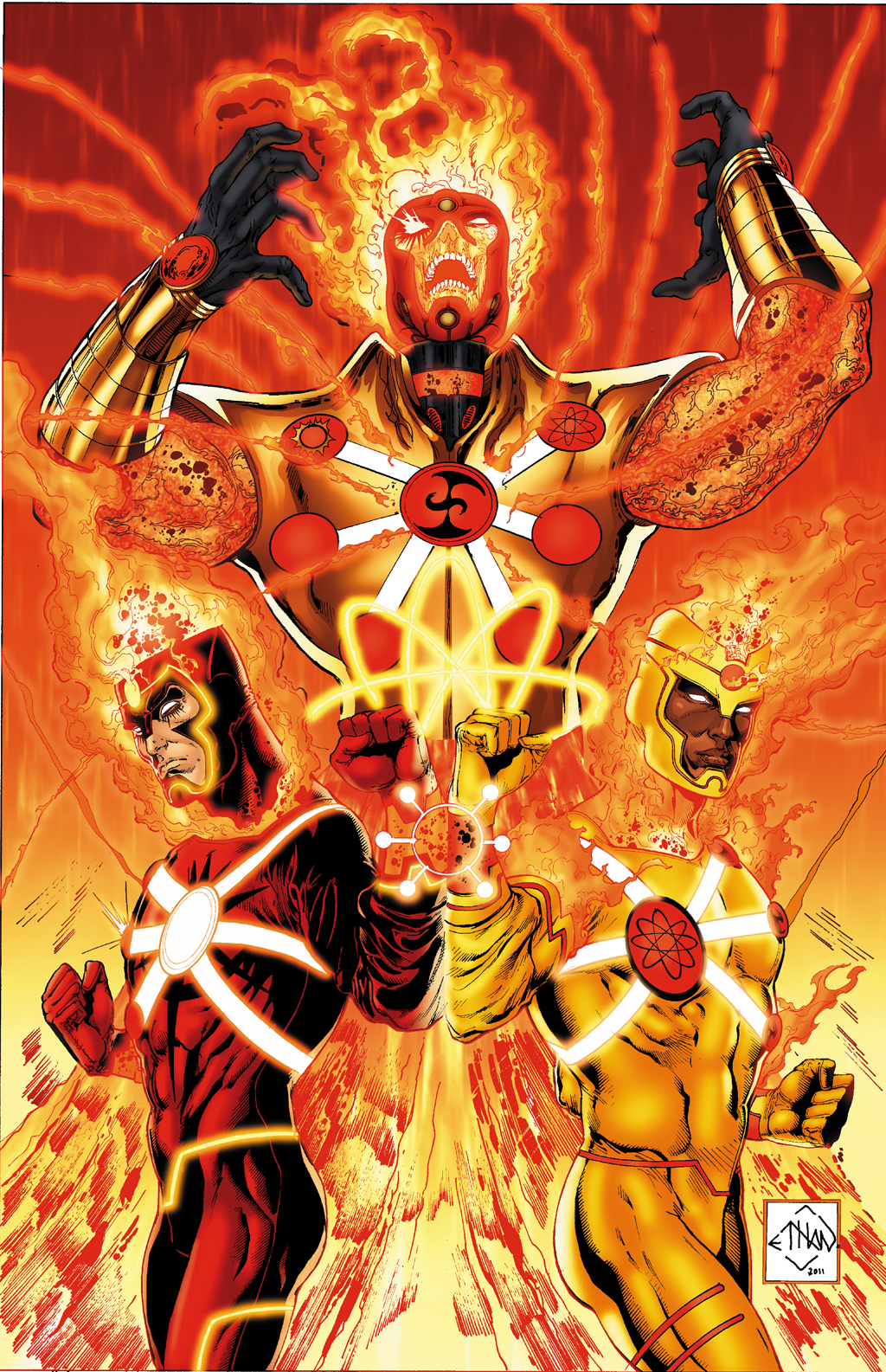 The Fury of Firestorm by Ethan Van Sciver, Gail Simone, an Yildiray Cinar