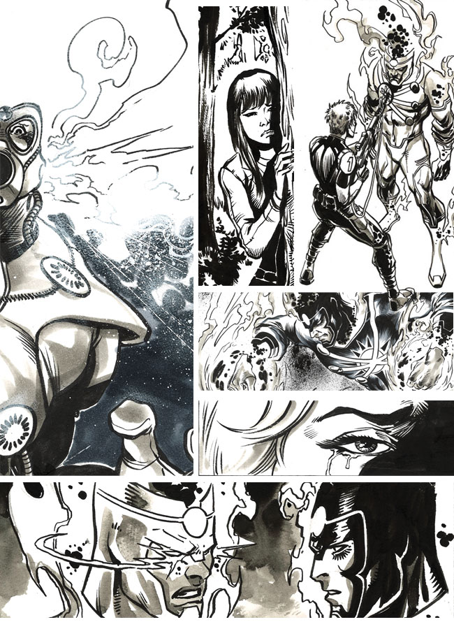 DC Univers: The Source blog art by Yidiray Cinar