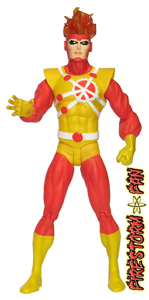 DC Direct JLA Series 2 Firestorm action figure
