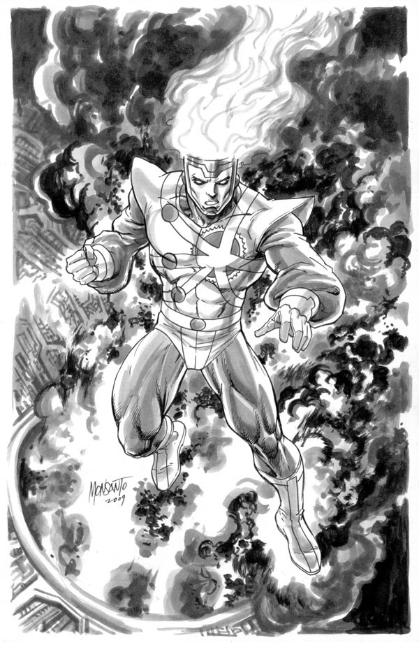 Firestorm by Gilbert Monsanto ~ gammaknight