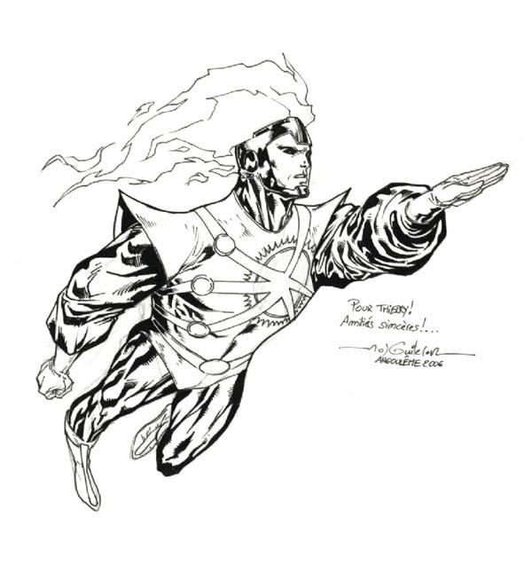 Firestorm sketch by Guile