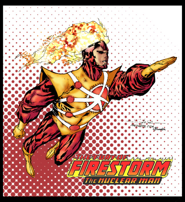 Firestorm sketch by Guile and Bdog