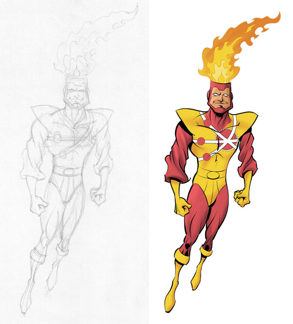 Firestorm by Harold Jennett III of the Geek Syndicate