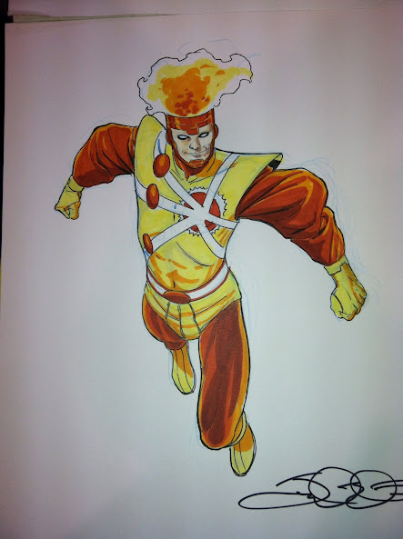 Firestorm by Jamal Igle from HeroesCon