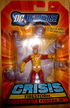 Firestorm Infinite Heroes action figure
