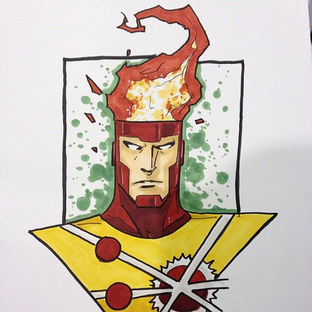 Firestorm by Jeremy Haun from HeroesCon
