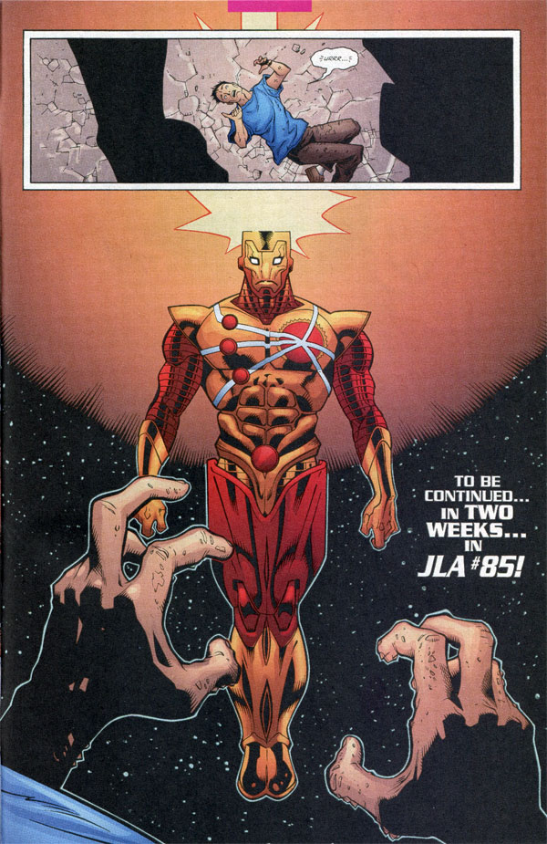 Firestorm from JLA #84 by Doug Mahnke