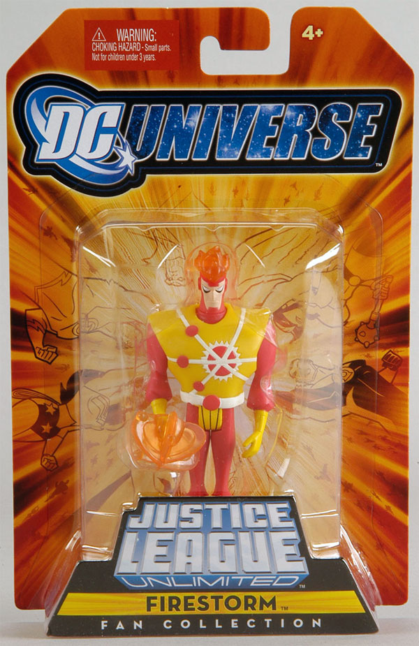 Firestorm action figure from Justice League Unlimited
