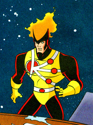 Firestorm in Justice League Unlimited comic books