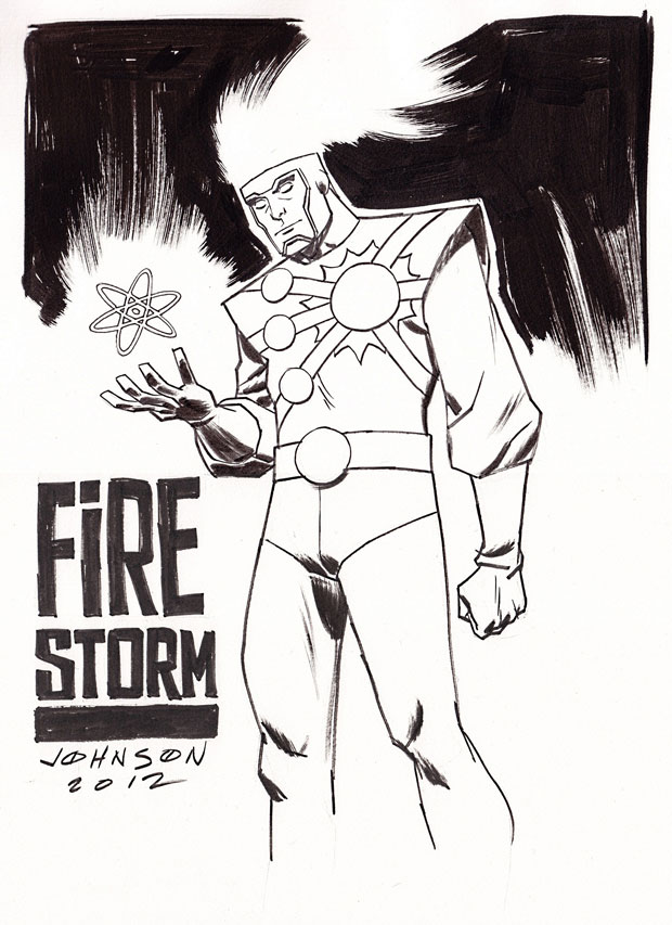 Firestorm by Dave Johnson from Armageddon Expo