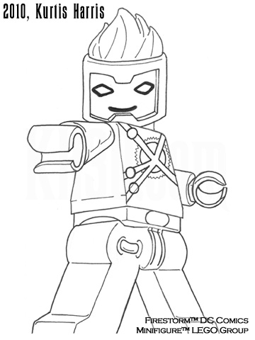 Firestorm Lego