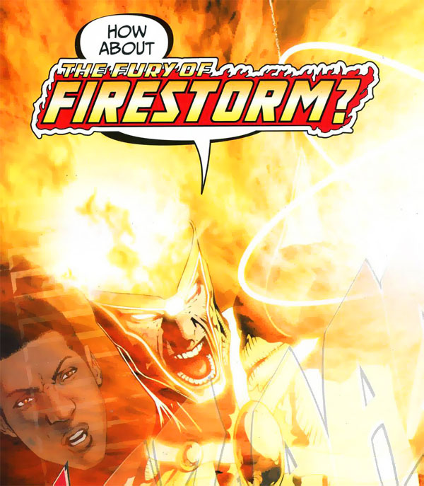 Fury of Firestorm logo from Brightest Day