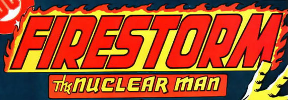 Firestorm vol 1 logo - Gerry Conway and Al Milgrom