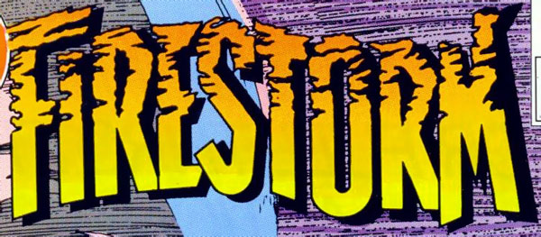 Firestorm vol 2 logo - John Ostrander and Tom Mandrake