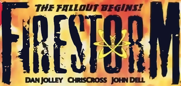Firestorm vol 3 logo - Dan Jolley and ChrisCross
