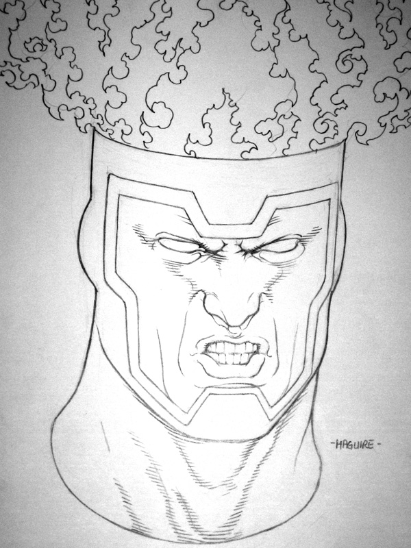 Firestorm commission by Kevin Maguire