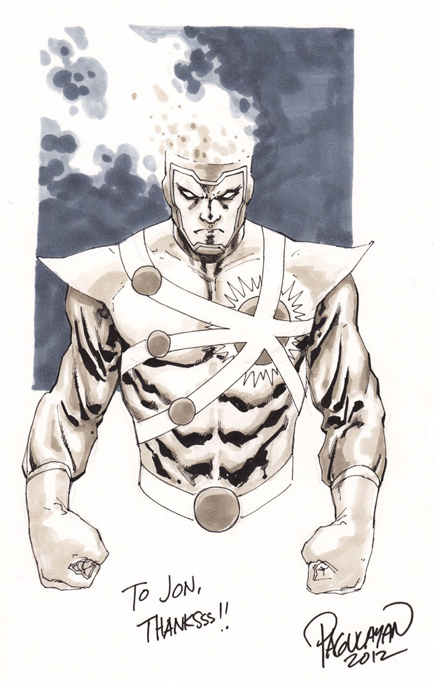 Firestorm by Carlo Pagulayan from Armageddon Expo