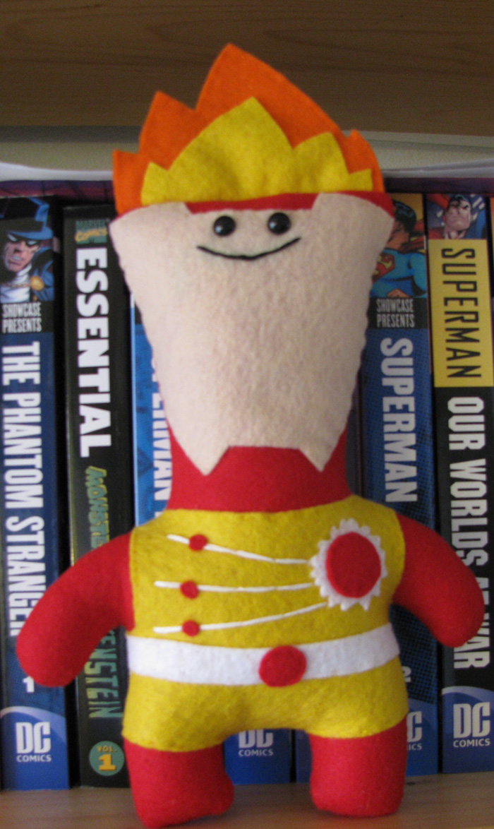 Firestorm Plush by K-n-B Creations