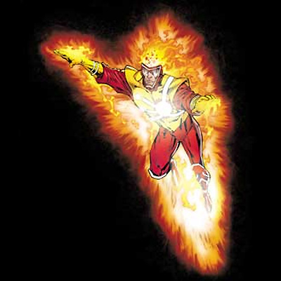 Firestorm Blaze T-shirt from PopFunk