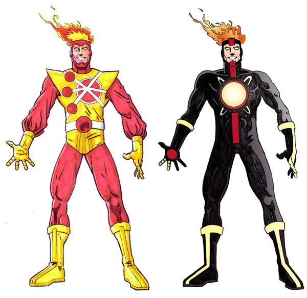 Firestorm redesign by Jeff Winstead