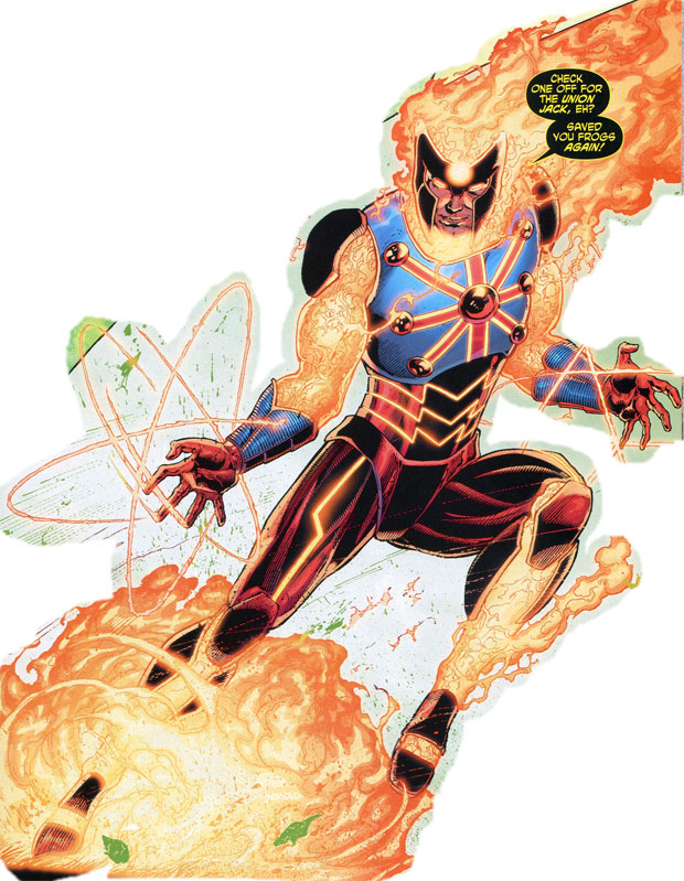 Hurricane the British Firestorm by Ethan Van Sciver