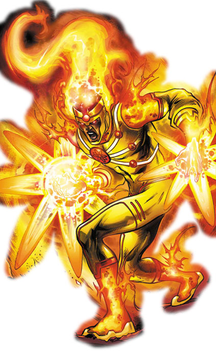 Jason Rusch as Firestorm by Yildiray Cinar