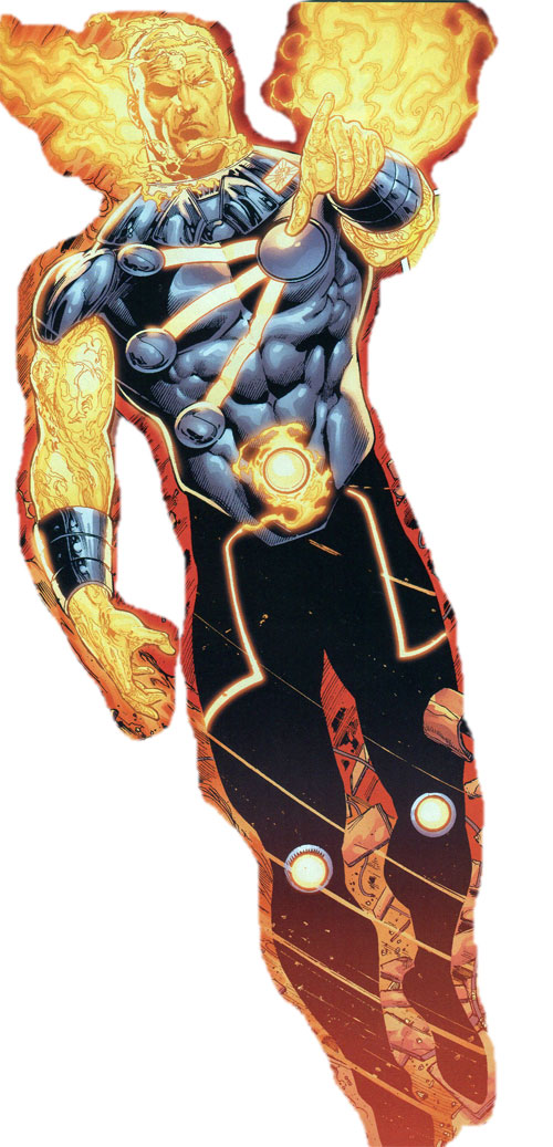 Mikhail Arkadin as Pozhar the Russian Firestorm by Ethan Van Sciver