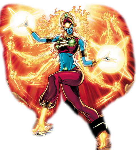 Rakshasi the Indian Firestorm by Yildiray Cinar and Ethan Van Sciver