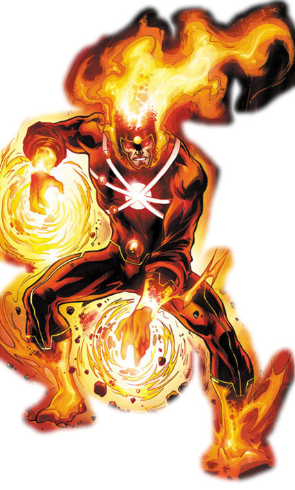 Ronnie Raymond as Firestorm by Yildiray Cinar