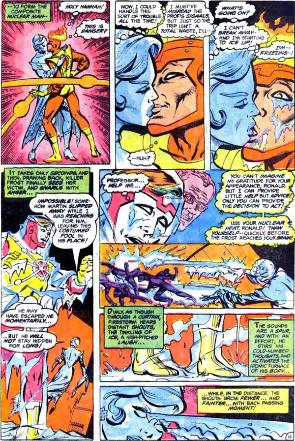 Firestorm the Nuclear Man #3 by Gerry Conway, Al Milgrom, and Bob Mcleod.