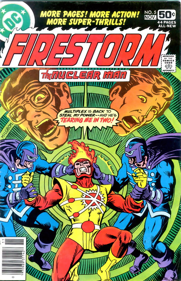 Firestorm the Nuclear Man #5 with Multiplex