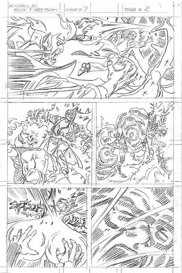 Firestorm vol I #7 page 2 by Al Milgrom at Firestorm Fan.com