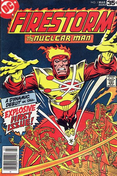 Firestorm volume I #1 cover by Al Milgrom