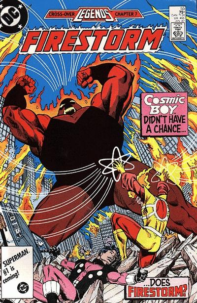Firestorm the Nuclear Man #56 written by John Ostrander