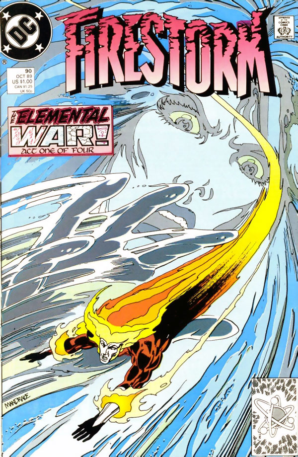 Firestorm #90 by John Ostrander and Tom Mandrake