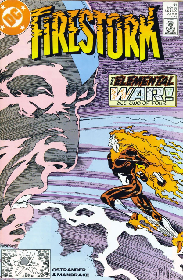 Firestorm #91 by John Ostrander and Tom Mandrake