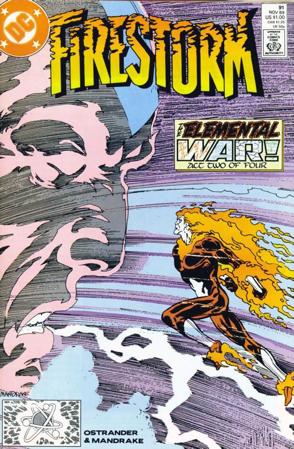 Firestorm #91 by John Ostrander and Tom Mandrake