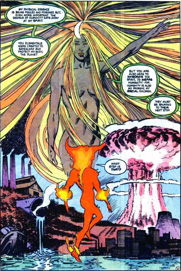 Firestorm #92 by John Ostrander and Tom Mandrake