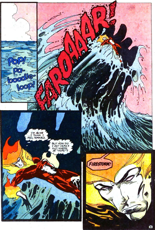 Firestorm #92 featuring Swamp Thing by John Ostrander and Tom Mandrake