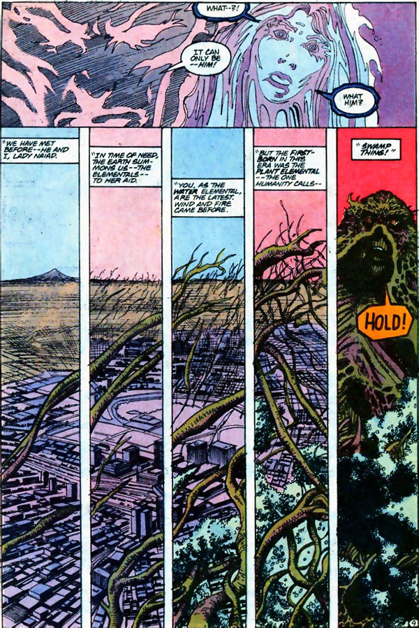 Firestorm #93 featuring Swamp Thing by John Ostrander and Tom Mandrake