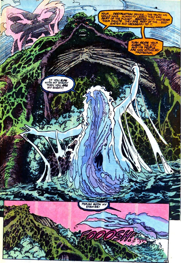 Firestorm #93 featuring Swamp Thing and Red Tornado by John Ostrander and Tom Mandrake